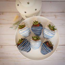 Blue Strawberries