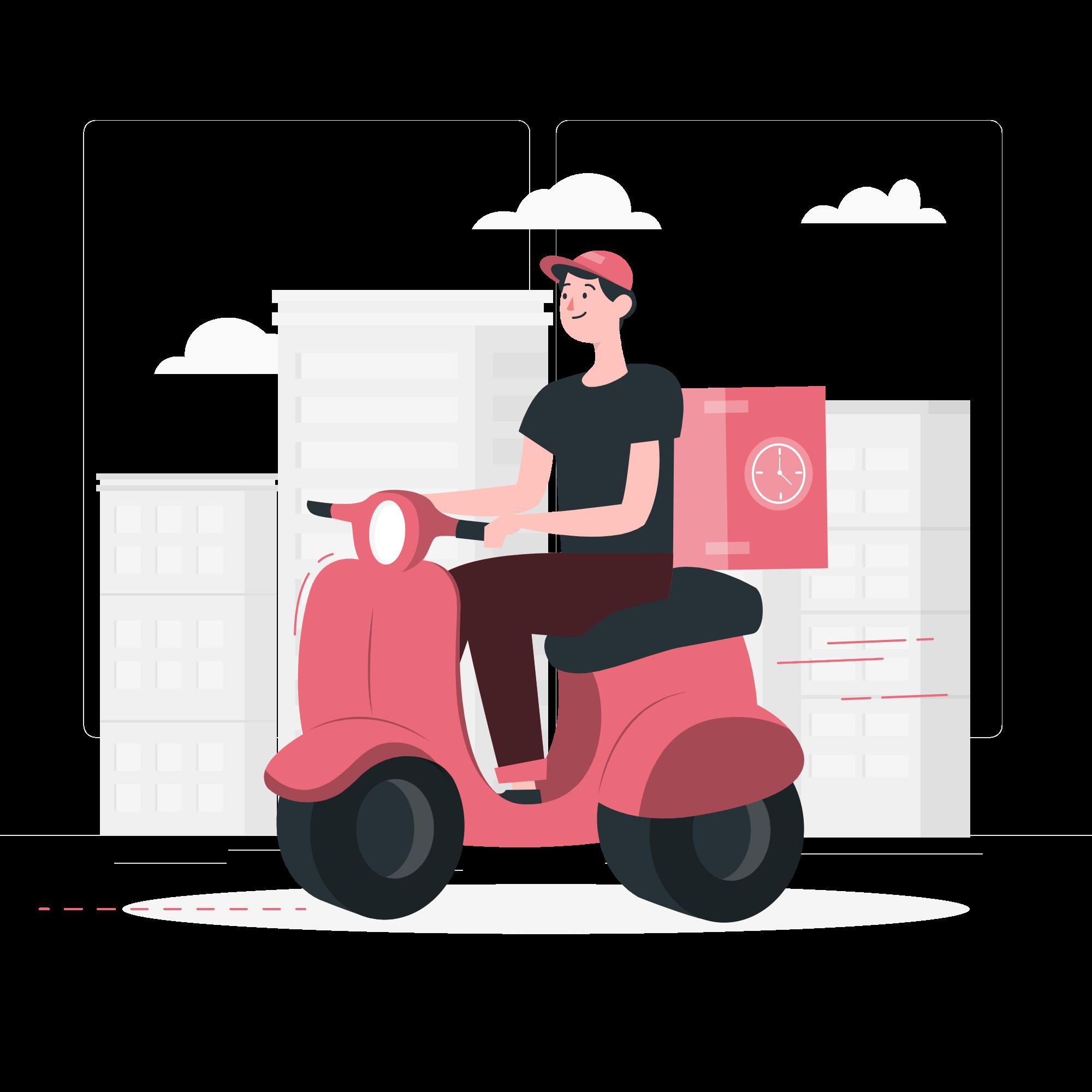 Delivery ilustration