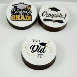 Graduation Choco Cookies - Dozen