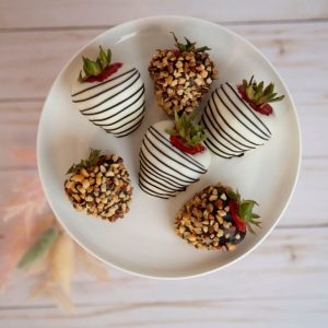 Peanut Chocolate Covered Strawberries